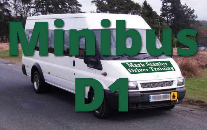 D1 Minibus Training To obtain a PCV D1 license
