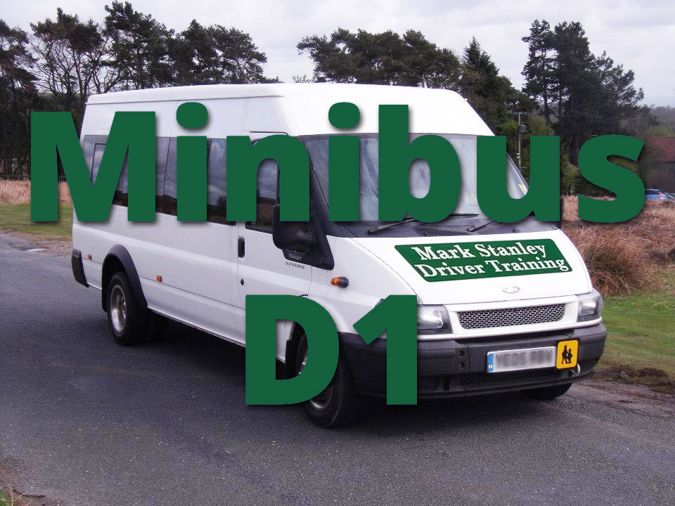 D1 Minibus Training To obtain a PCV D1 license
